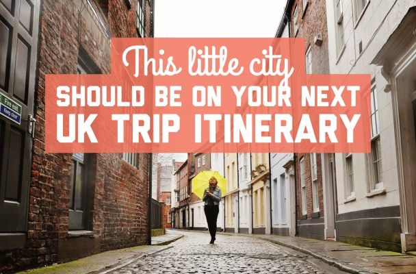 This little city should be on your next UK trip itinerary