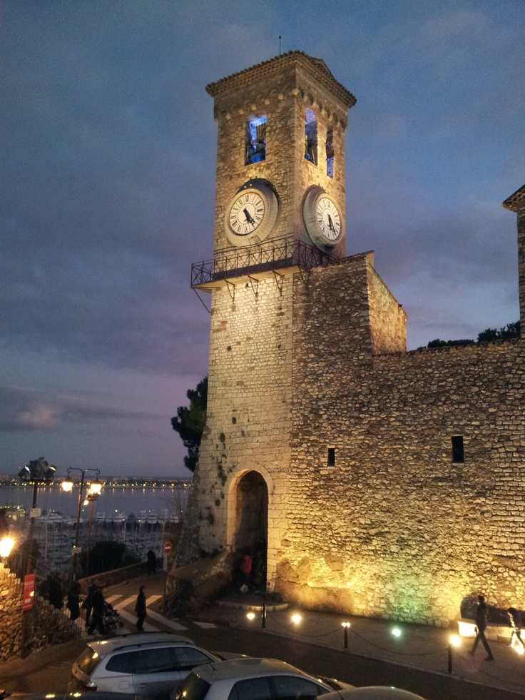 The church in Le Suquet, Cannes, France