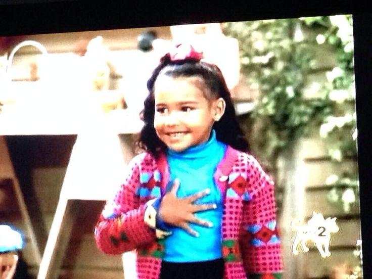 Naya Rivera as a kid on Family Matters   Naya Rivera