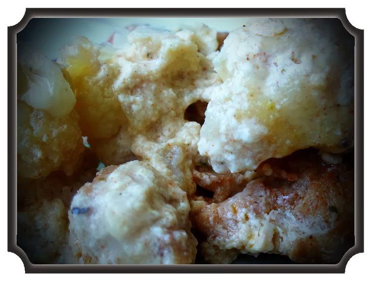 Réka alakbarát receptjei - szénhidrátcsökkentett, bűntelen finomságok: Szaftos csirkemell karfiollal sütve