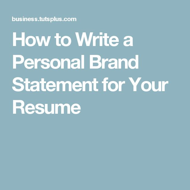 Best 10+ Personal Brand Statement Ideas On Pinterest | Personal
