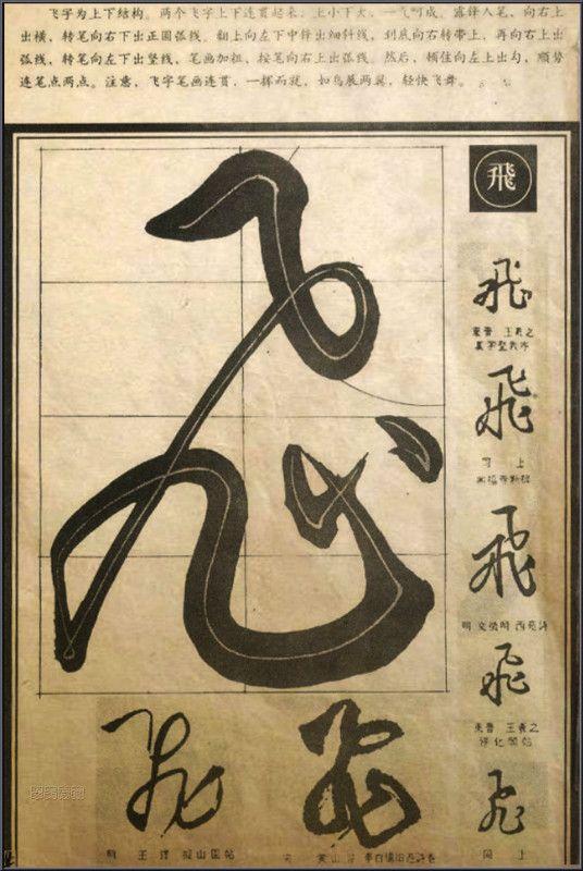 Shodo . Calligraphie japonaise - Tracés Grille