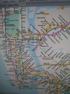 NYC, how we got around!  Subway