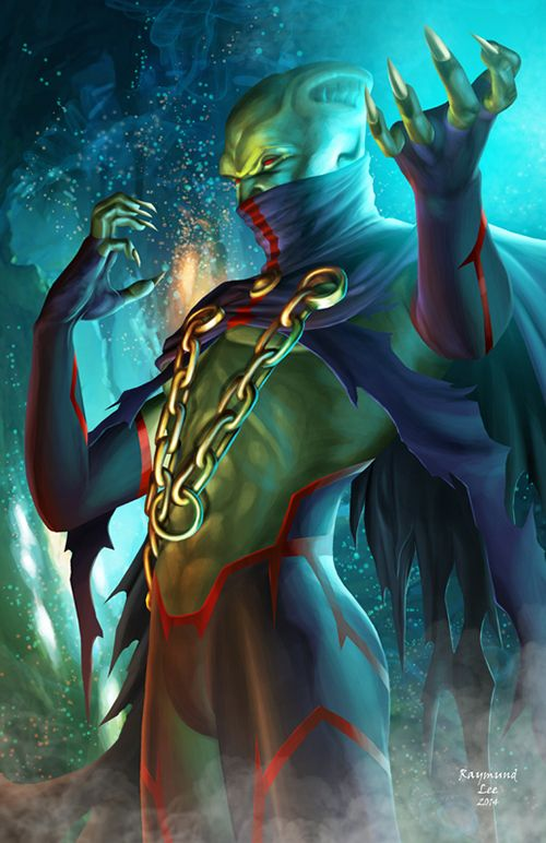Ma'alefa'ak, Martian Manhunter brother by Raymund Lee