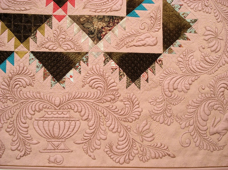 100 best Quilt masters and their quilts. images on Pinterest ... : machine quilting blogs - Adamdwight.com