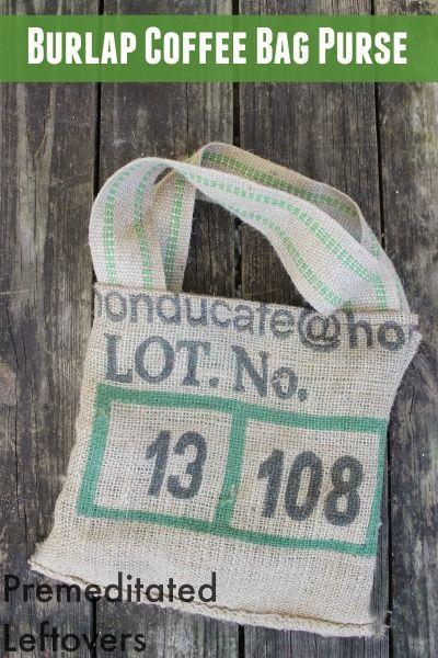 17 Best ideas about Burlap Coffee Bags on Pinterest | Coffee sacks ...