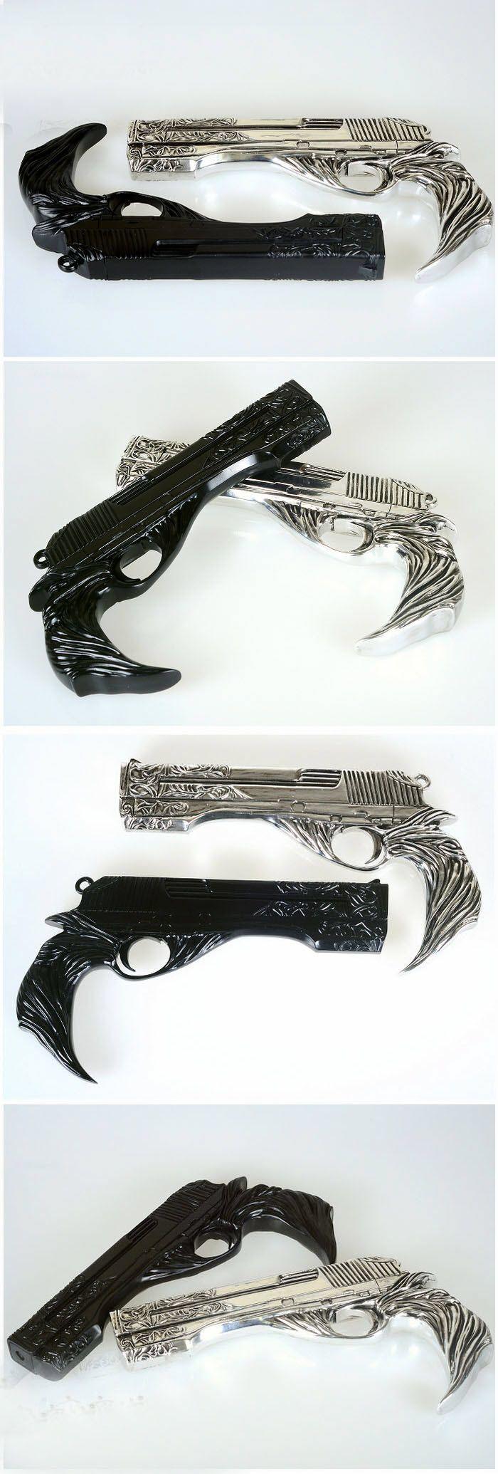 DMC 5 Dante Cosplay Guns Ebony & lvory Cosplay