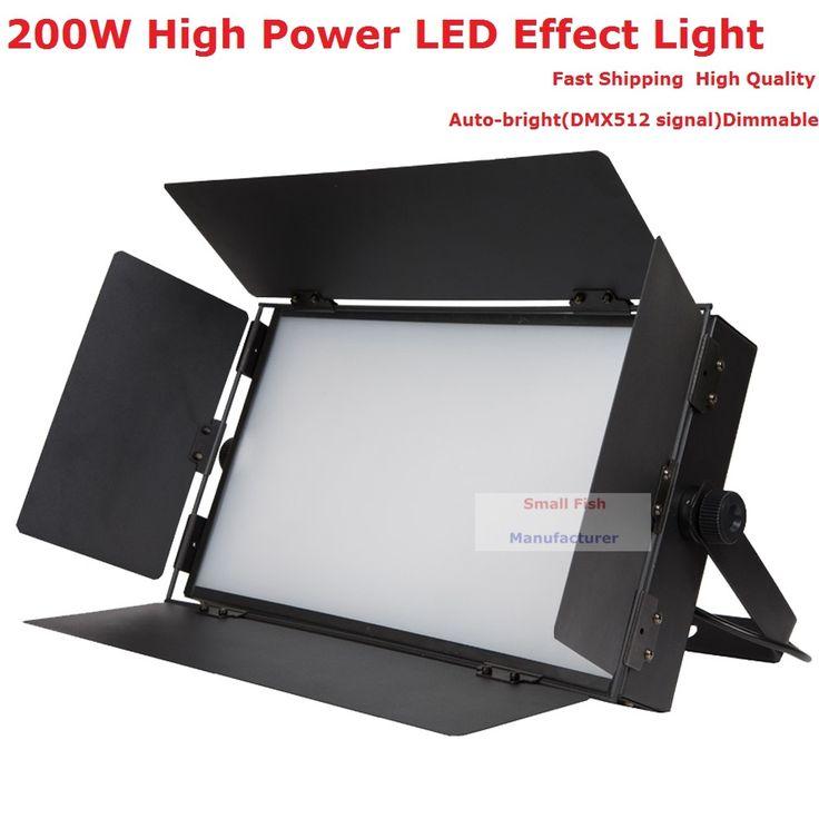 Best Sales 1Pcs/Lot 832Pcs LED Fluorescent Lighting 110V-230V Auto-bright Professional Stage Strobe Effect Lights Fast Shipping