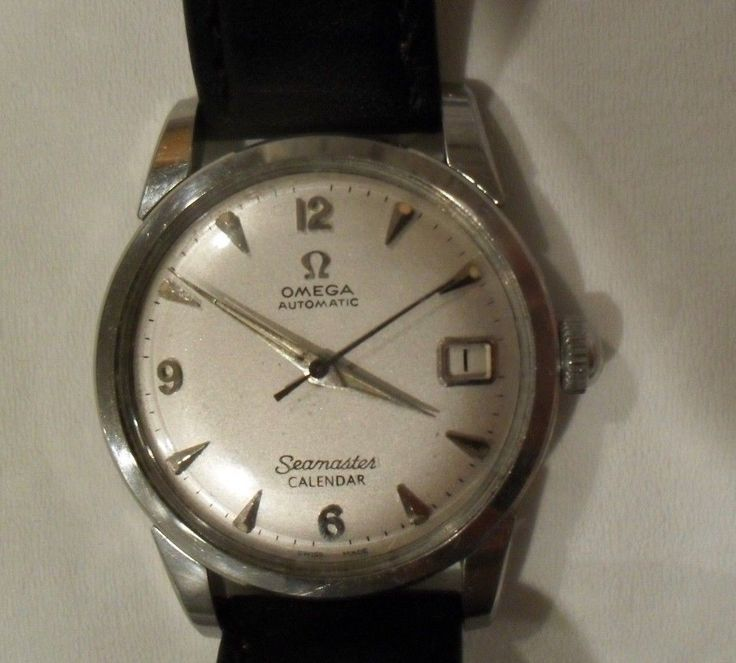 Vintage Omega Automatic SeaMaster Calendar Watch Fully Serviced