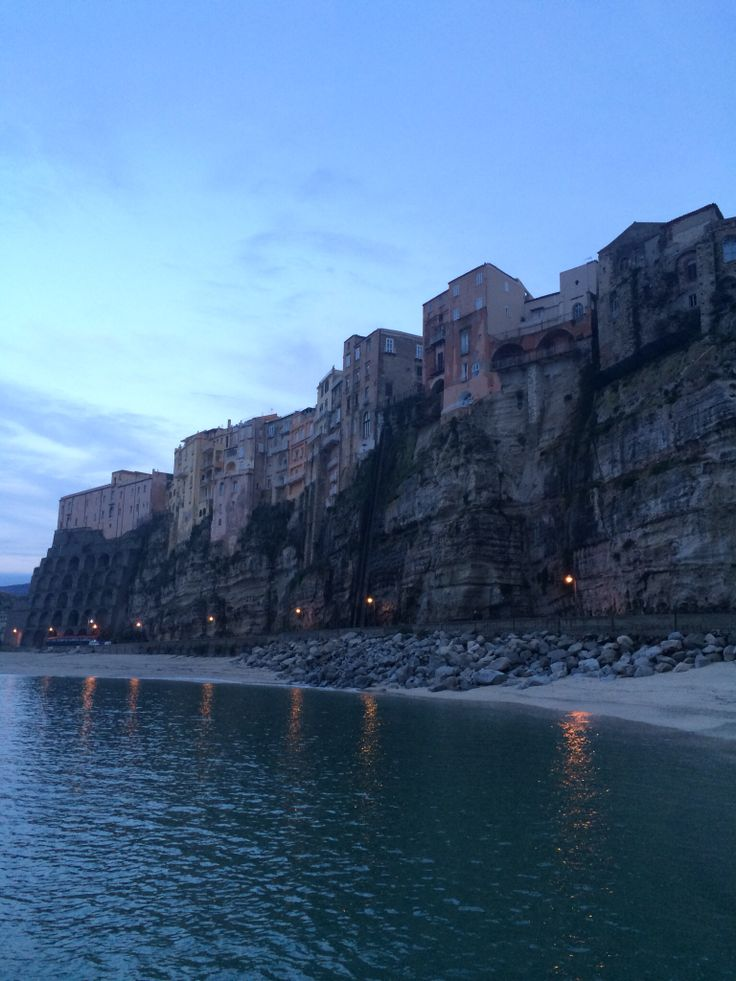 The rock of Tropea: its buildings lay on the top of this rock for many centuries