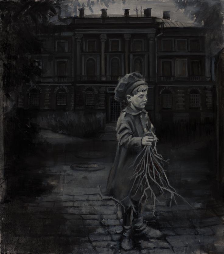 Rain Painting - original artwork by Rūta Matulevičiūtė