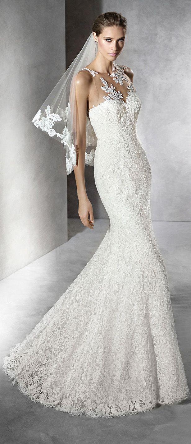Pronovias 2016 Wedding Dress - Belle The Magazine