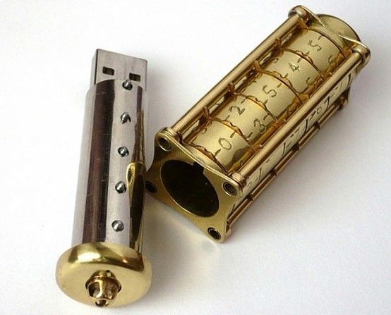 Cryptex flash drive uses combination lock sleeve, brings a whole new meaning to…