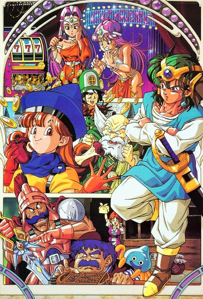 Dragon Quest IV - game of quirky heroes and eccentric headgear.
