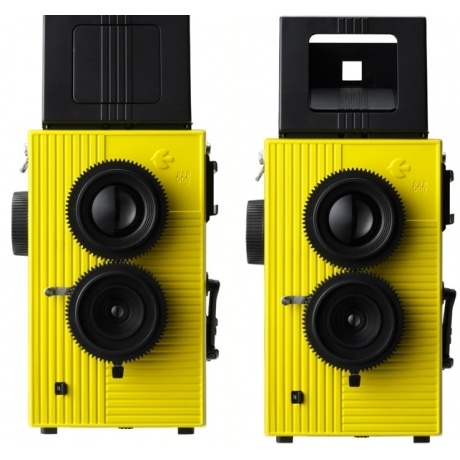 Capture your Summer memories! This TLR camera actually takes 35mm film, which can be developed easily. Plus, who doesn't love a pop of yellow? Blackbird Fly Twin Lens Reflex Camera at poketo.com: History Stretch, Reflex Film, Film Making, Camera On, 35Mm Film, Blackbird Models, Reflex Camera I, Blackbird Flying, Film Camera