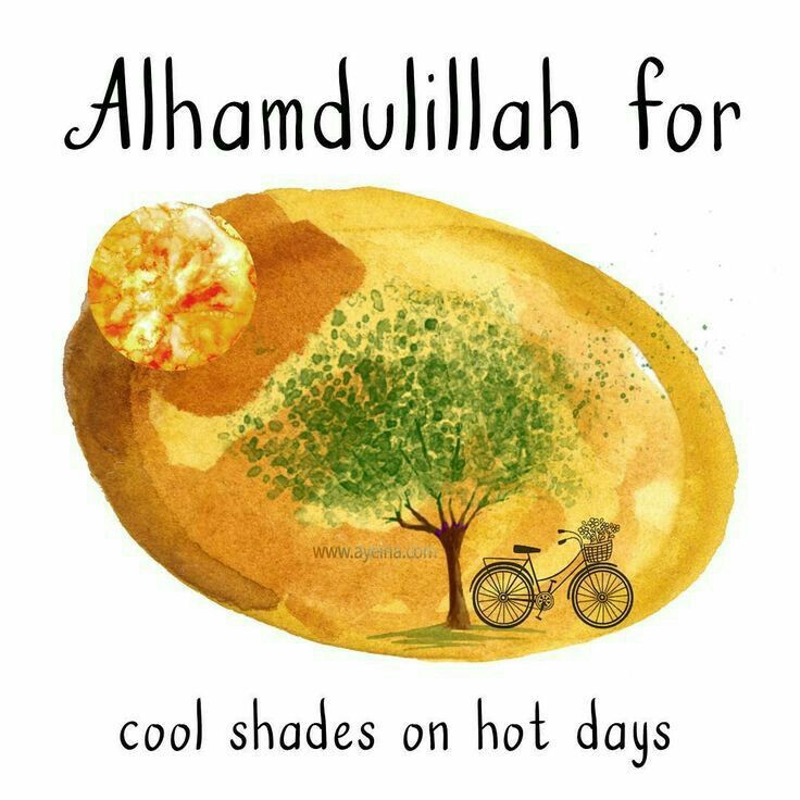 Alhamdulillah for Allah ♡