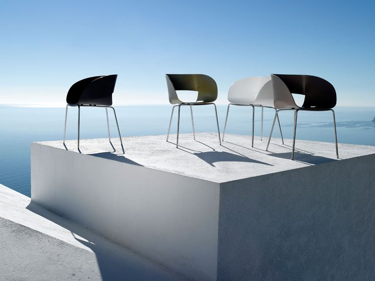 outdoor chairs by tribu might get a bit sweaty on the bum though - Outdoor Mobel Set Tribu