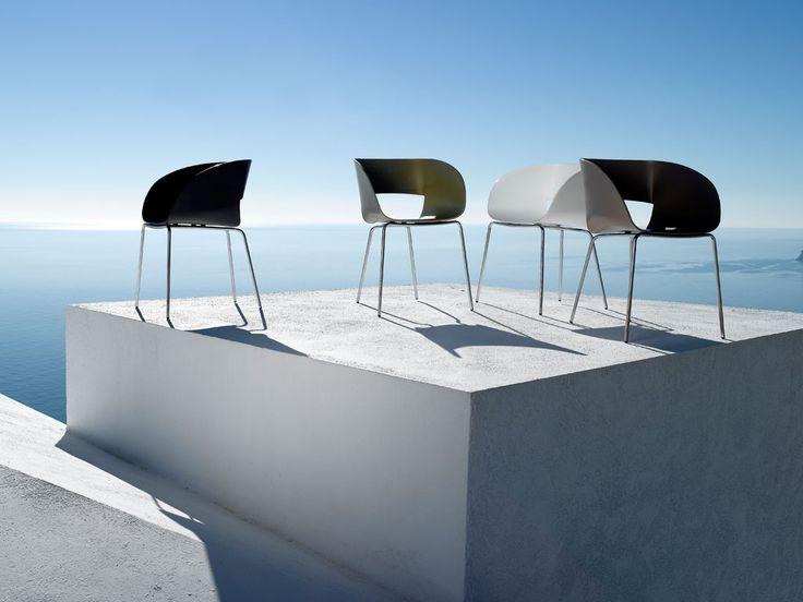 """Tribu Vintage stoel zwart 338€ promo 235€  (voor gebruikt showmodel in woning = 2dehands!) = belachelijke """"korting"""""""