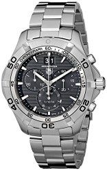 TAG Heuer Men's CAF101E.BA0821 Aquaracer Black Dial Watch