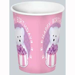 BE58202P - Baby Bear Pink Cups Please note: approx. 14 day delivery time. www.facebook.com/popitinaboxbusiness