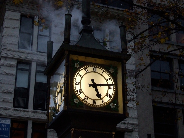Gas Town Clock