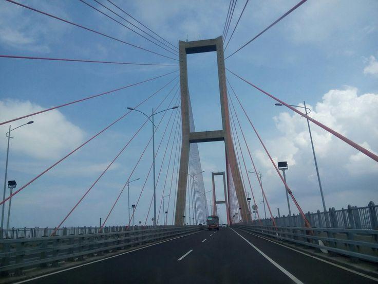 Suramadu Bridge, From Surabaya to Madura, Indonesia