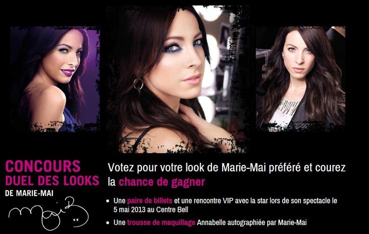 Concours Duel des Looks de Marie-Mai