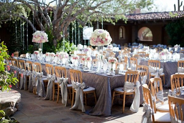 pink, purple, white on gray - Stephanie Fay Photography \ Event Planner – Ashley Gain Weddings and Events \ Floral Designer – Petal Pusher
