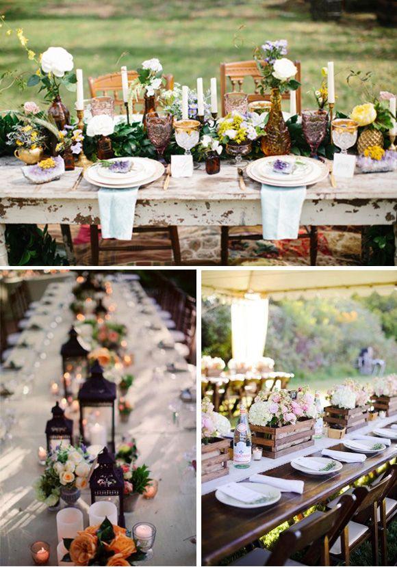 656 best images about wedding decor ideas on pinterest - Como decorar mesas para fiestas ...