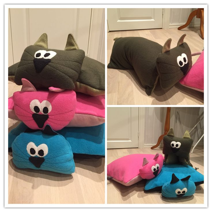 Cute fleece-pillowes
