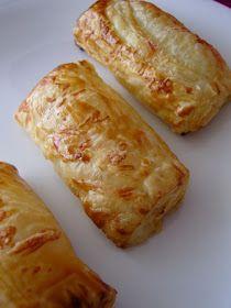 Ninas kleiner Food-Blog: Blätterteig-Schinken-Röllchen