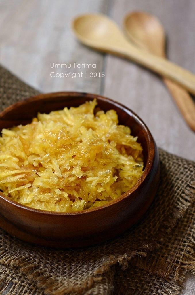 Simply Cooking and Baking...: Sawut Singkong