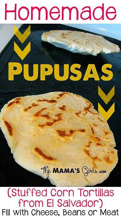 Homemade Pupusas!