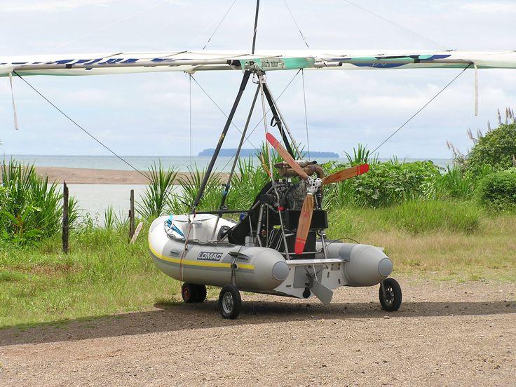 Flying Inflatable Boat Amphibious Polaris Motor