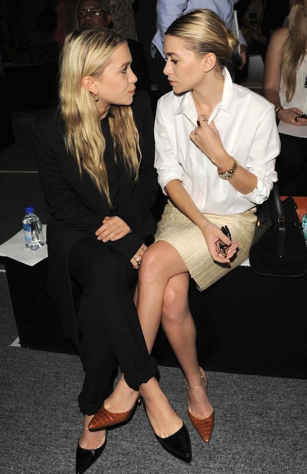 FRONT ROW: MARY-KATE + ASHLEY | BLACK + NEUTRALS - Olsens Anonymous