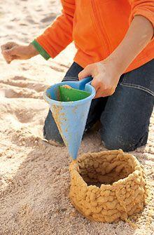 Uitvindingen voor kinderen - Kloddertrechter - Zandspeeltjes - In de natuur - Speelgoed & meubels