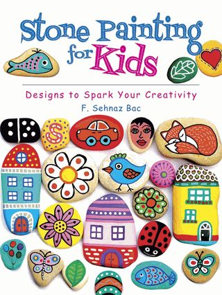 Fun-to-follow instructions for simple projects are accompanied by full-color illustrations. Patterns include geometric designs, plants, animals, numbers, and letters plus directions for stone games such as tic-tac-toe, chess, and dominoes.