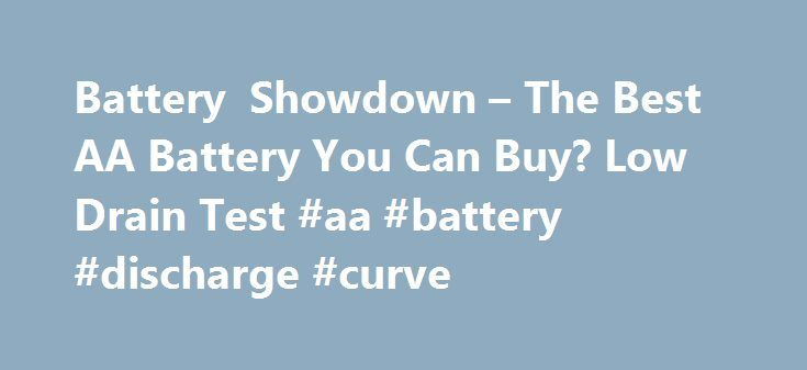 Battery Showdown – The Best AA Battery You Can Buy? Low Drain Test #aa #battery #discharge #curve http://jamaica.remmont.com/battery-showdown-the-best-aa-battery-you-can-buy-low-drain-test-aa-battery-discharge-curve/  # Project: Battery Showdown Analysis Discount cells perform very well Surprisingly, the clear winner in this test was the Ikea alkaline. followed by other discount store batteries. The Ikea scored over 2200mAh, and costs just 10p per cell (sold in packs of 10.) Other discount…