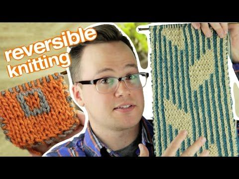 Knitting a reversible scarf (or reversible anything, really) is surprisingly not as difficult as you would think. In this tutorial, I'll go over all the basi...