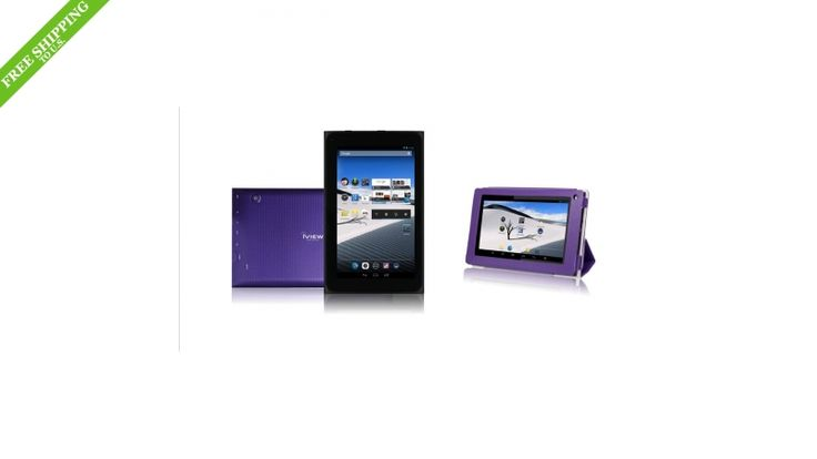 "iView SupraPad 7"" Android 4.2 Tablet PC- Purple"