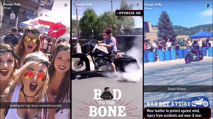 Sturgis Motorcycle Rally 2016 - Snapchat Story    #SturgisMotorcycleRally #76thAnniversarySturgisMotorcycleRallyandRaces2016 #SouthDakota #RallyandRaces