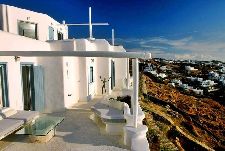 Emerald Villa in Mykonos.  From Blue Villas Collection: http://ow.ly/EgJkC