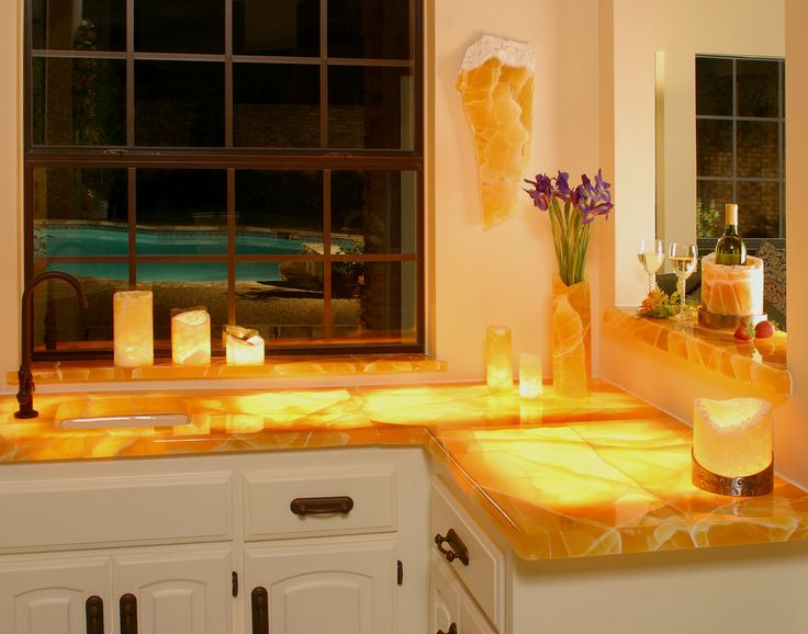 Honeycomb Onyx Countertops And Residential Use   Honeycomb Onyx