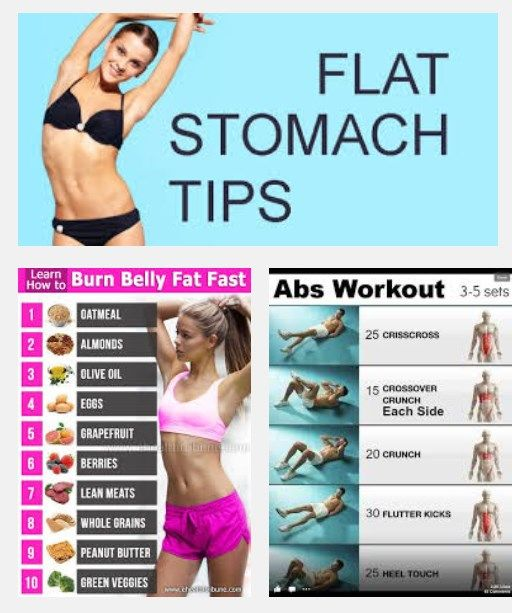 Lose Stomach Fat Fast - FLAT STOMACH TIPS