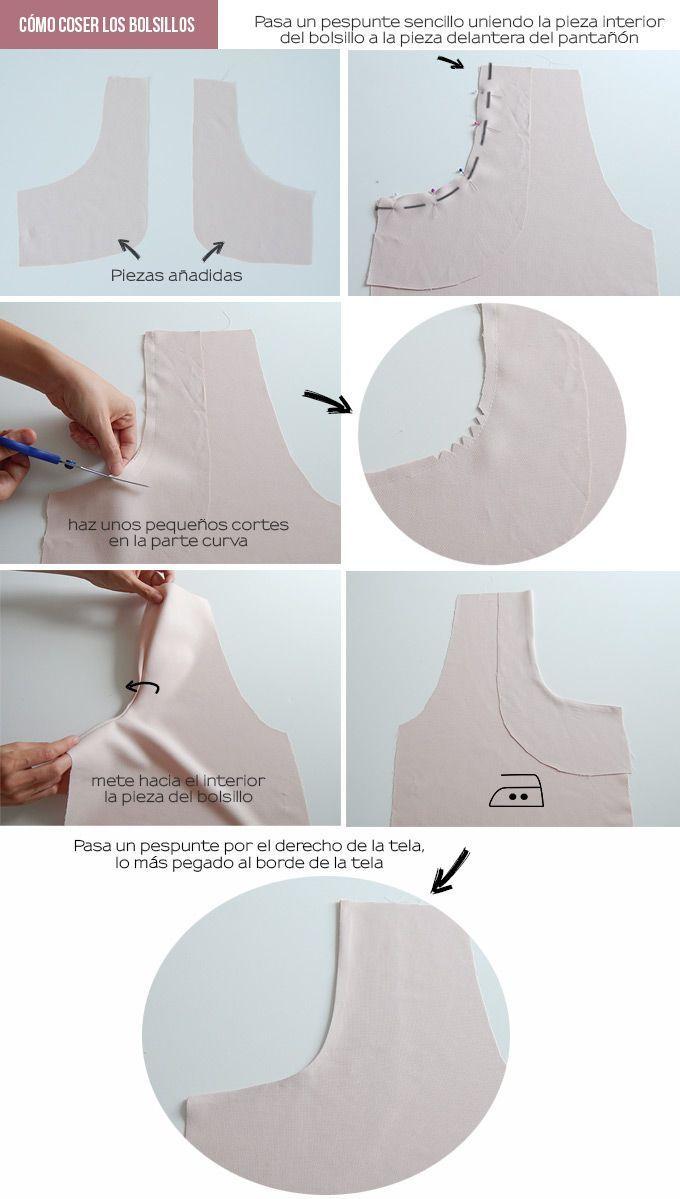 Mais informaçõesEncontre este Pin e muitos outros na pasta cosas de Marta.   – sewing tips