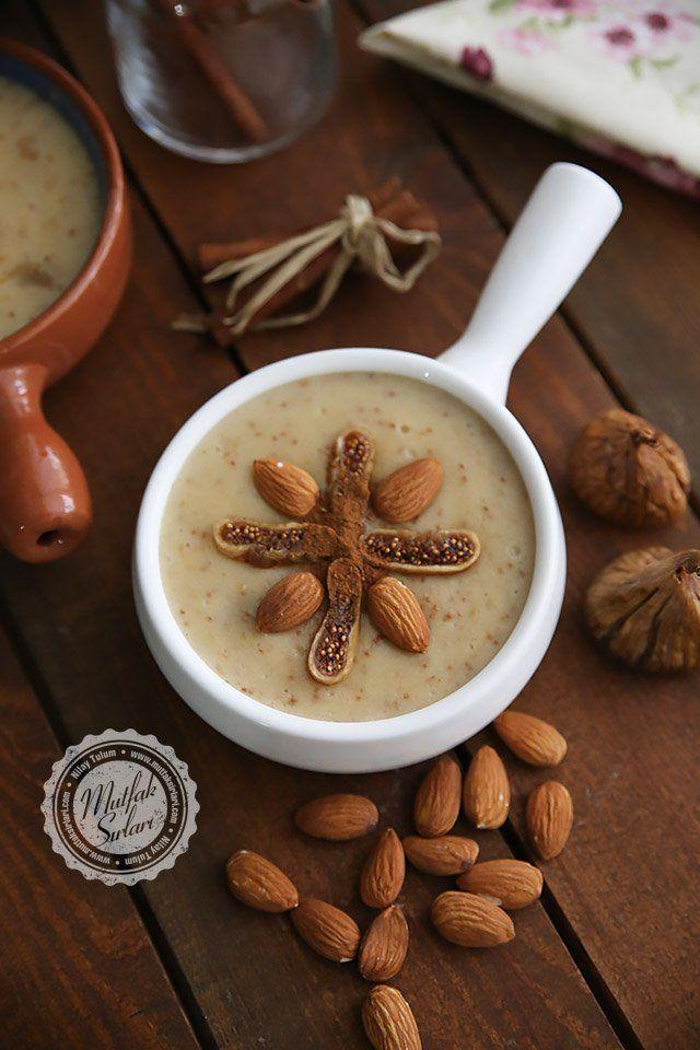 İncirli Muhallebi - Fig Pudding
