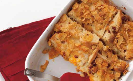 BREAKFAST: Epicure's Time-saver Breakfast Casserole (360 calories/serving)