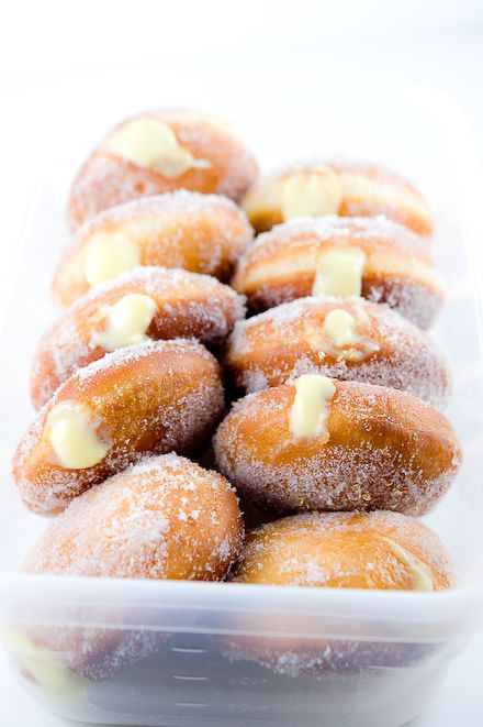 ... about Donuts on Pinterest | Donuts, Boston Cream Donuts and Jam Donut