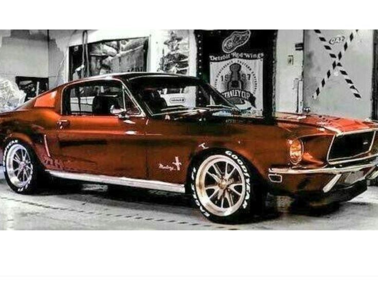 Beautiful Mustang Love The Colour Mustangclassiccars Color