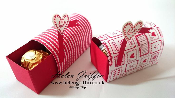 Tutorial - Ferrero Rocher Mini Valentines Post Box